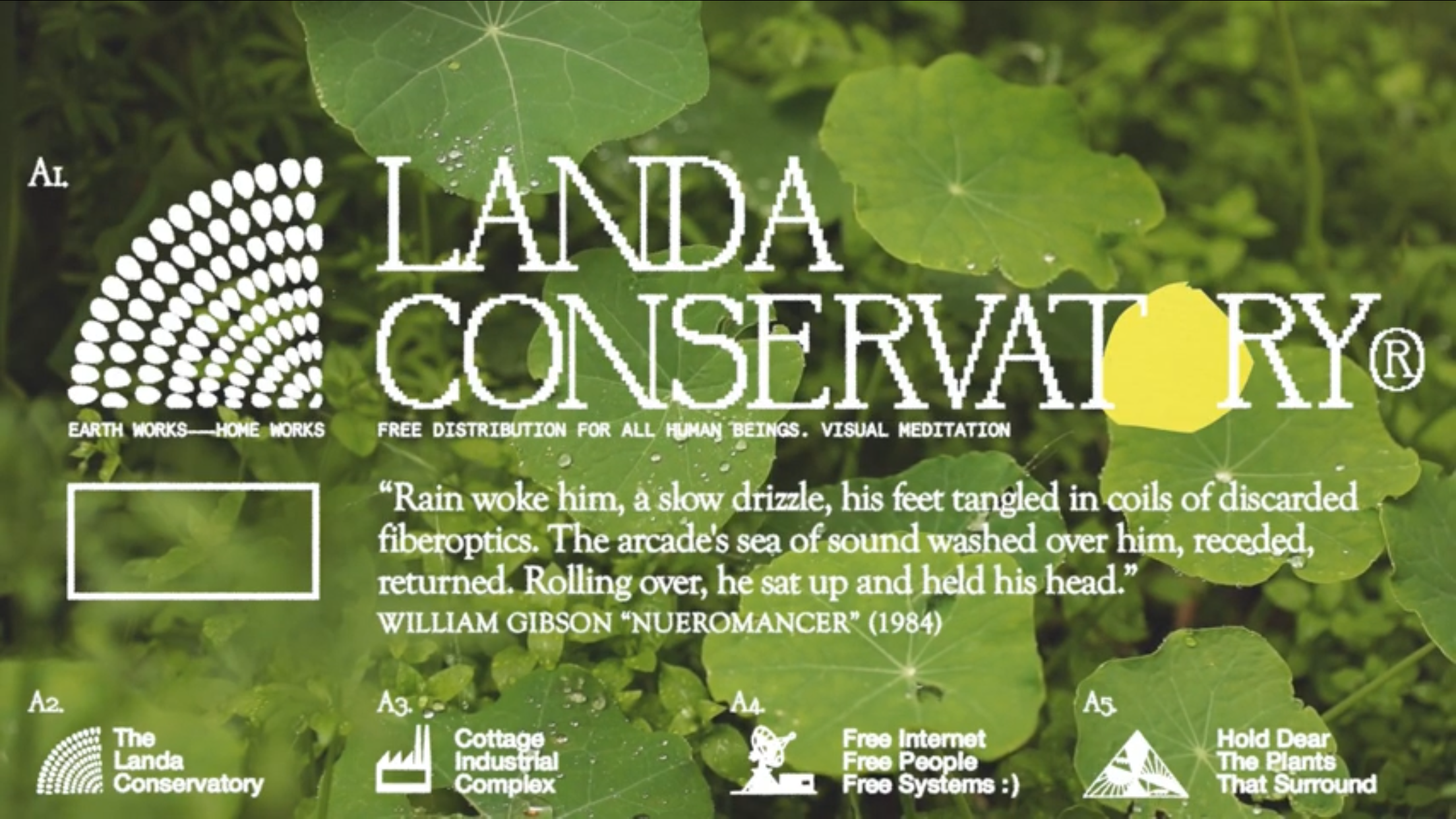 "[US🇺🇸]Landa Conservatory – ""Soft Rain As Dusk Approaches (Visual Meditation)"""
