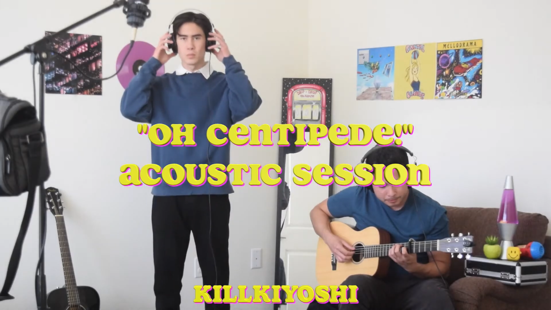 "[US🇺🇸/JP🇯🇵]killkiyoshi – ""Oh Centipede!(Acoustic Session)"""