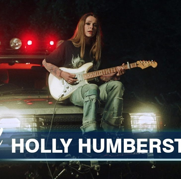 [UK🇬🇧]Holly Humberstone – 'Overkill' + 'Falling Asleep at the Wheel'(Live at Jimmy Kimmel Live)
