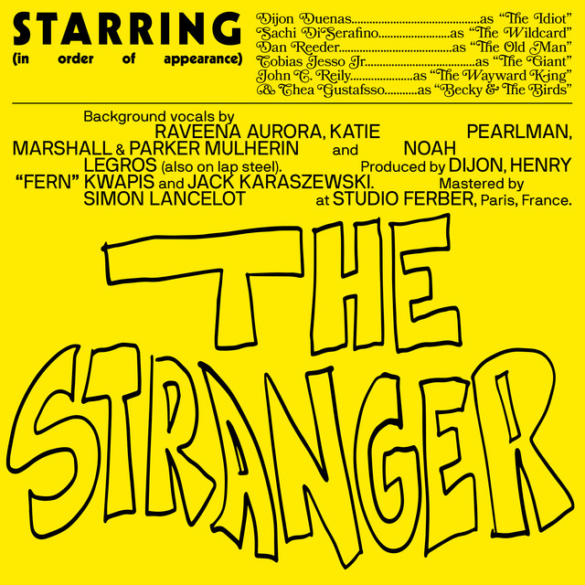 [US🇺🇸]Dijon ft. Sachi, Dan Reeder, Tobias Jesso Jr, John C. Reilly, Becky and the Birds – 'The Stranger'