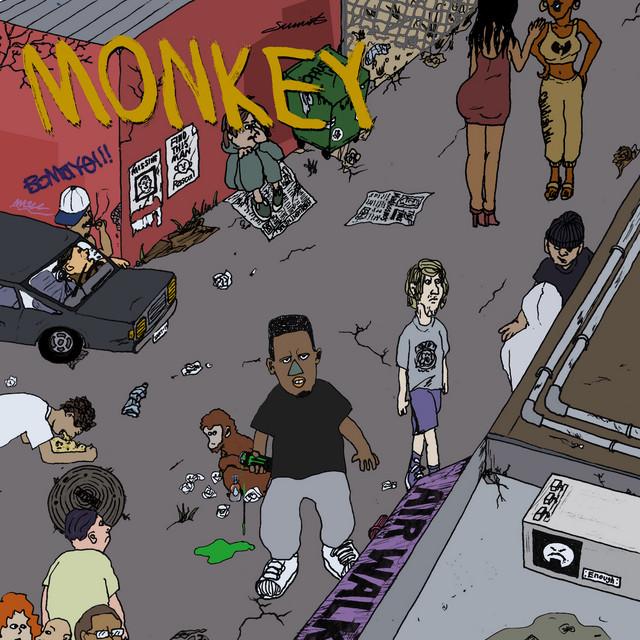 [JP🇯🇵]OMSB – 'MONKEY' (EP)